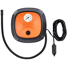 EONO Essentials Analogue Tyre Inflator, Air Compressor with Valve Adaptors