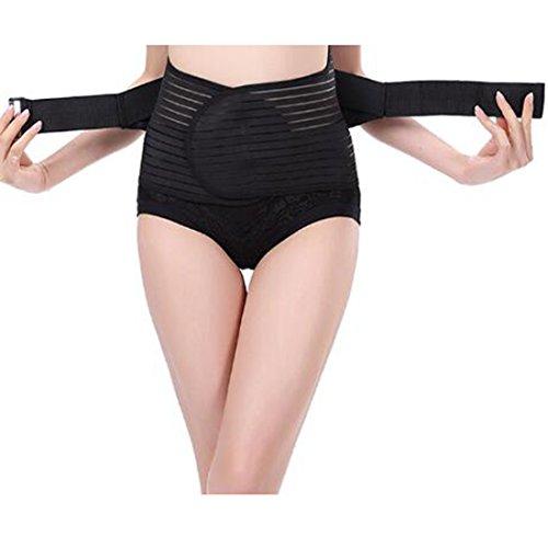 Glield Bauchweggürtel Elektrisch Einstellbar, Abnehmen Fitnessgürtel, Schwitzgürtel, für Damen und Herren YFD04
