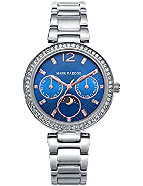 Mark Maddox Damen-Armbanduhr MM7017-35
