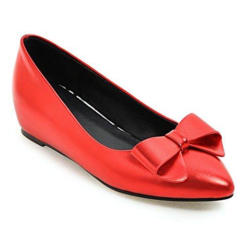 DecoStain Sandales Compensées femme red