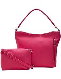 ADISA AD4034 Women Handbag With Sling Bag Combo