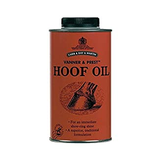 Carr Day and Martin Vanner and Prest Hoof Oil Carr Day and Martin Vanner and Prest Hoof Oil 41wmYCgG 2B1L