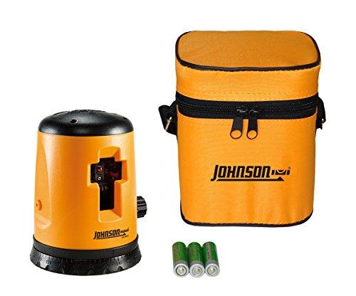Crossline Level (Johnson Level and Tool 40-0912 Self-Leveling Cross-Line Laser Level by Johnson Level & Tool)