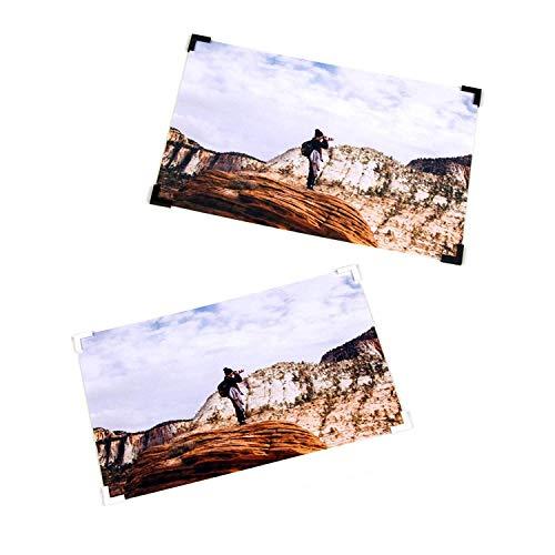 toecken selbstklebend für Fotos & Postkarten - Fotos aufhängen ohne bohren, ohne nageln - Alternative zu Fotorahmen Fotovorhang Fotogitter Fotoseil - DIY Ideen Fotocollage Fotowand ()
