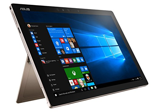 Asus Transformer 3 Pro T303UA-GN045T 32,0cm (12,6 Zoll WQHD+, Touch) Convertible Tablet-PC (Intel Core i5-6200U, 8GB RAM, 256GB SSD, Intel HD-Grafik, Windows 10 Home) gold