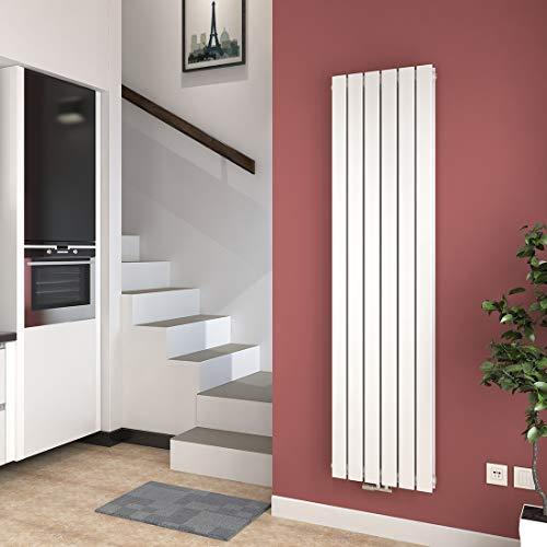 Vertikal Heizkörper Design Paneelheizkörper 1800x460mm Weiß ...