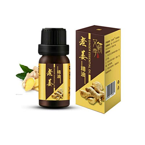 Ingwer Öl, Ingweröl Natürliche Reine Ätherische Öle Körper Massage Öle Duftöle Ingwer Ätherisches Öl Massageöl Körper Entspannen