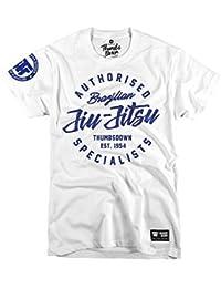 Thumbs Down JIU-Jitsu Brasileño Camiseta Remember Your Roots MMA. Gimnasio Entrenamiento. Marcial Artes Informal PHd6LKD