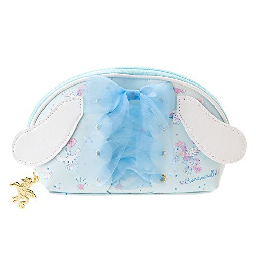 Sanrio Cinamoroll 15-jähriges Make-Up Etuis Flügel A368 hellblau und weiß (Bento Snoopy)