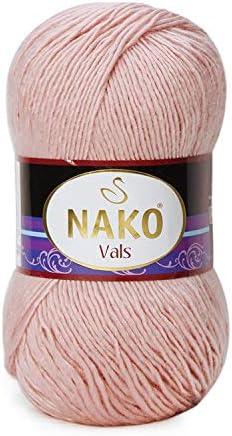 Hobbymix Nako Vals Vals Vals No 1479 Pelote de Laine à Tricoter avec Fil de Coton 100 g B07FZW6YYM 68c9d5