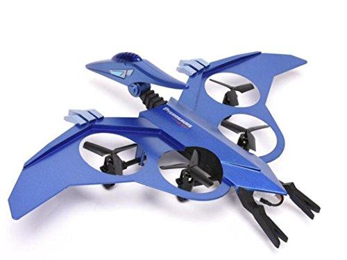 Hunpta Neue JXD 511 2.4 G 4CH 6 Achsen Gyro RC Quadrocopter Fernbedienung Luft Hubschrauber (Blau)
