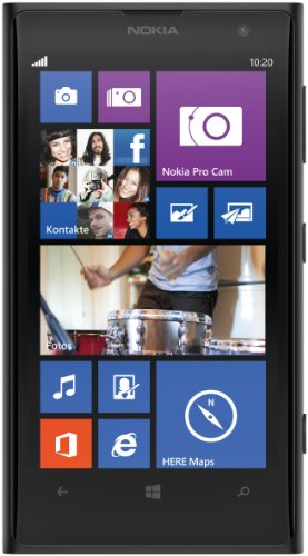 Nokia Lumia 1020 Smartphone (4,5 Zoll (11,4 cm) Touch-Display, 32 GB Speicher, Windows 8) schwarz (Nokia 32gb 1020)