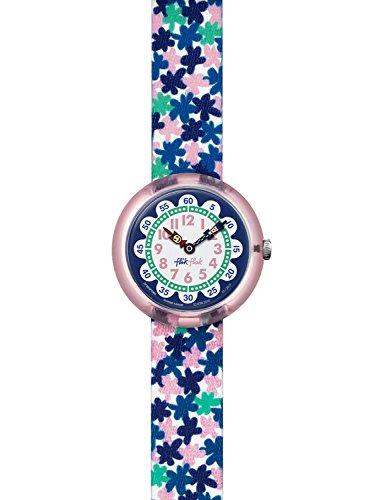 Flik Flak London Flower Uhr für Mädchen FBNP080