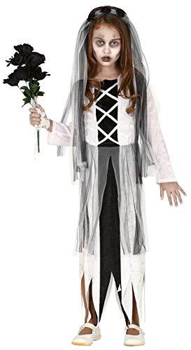 Fancy Me Gruselige Ghostly Corpse Tote Zombie Braut Freundin Gruselig Halloween Kostüm Outfit 5-12 - Eine Tote Braut Kostüm