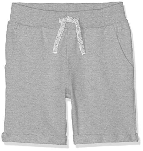 Name IT NOS Jungen NKMVERMO Long SWE UNB NOOS Shorts, Grau (Grey Melange), (Herstellergröße: 98)