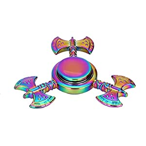 A063 Anglewolf Fidget Spinner,Great For Fidgety Hands, ADD & ADHD Sufferers Helps Relieve Stress