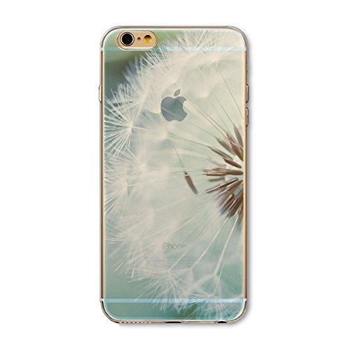 Coque iPhone 7 Housse étui-Case Transparent Liquid Crystal en TPU Silicone Clair,Protection Ultra Mince Premium,Coque Prime pour iPhone 7-Paysage-style 8 2