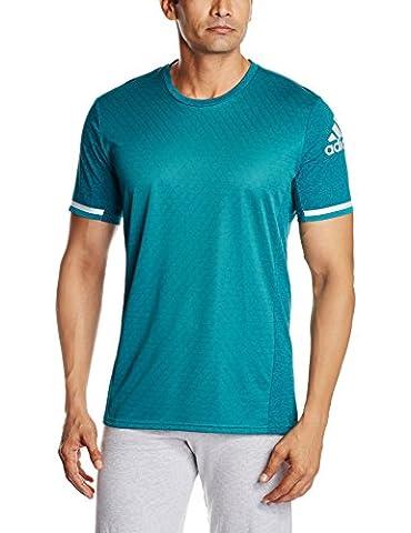 adidas Herren T-Shirt Supernova Climachill, Chill Eqt Green/B Dd, XL,