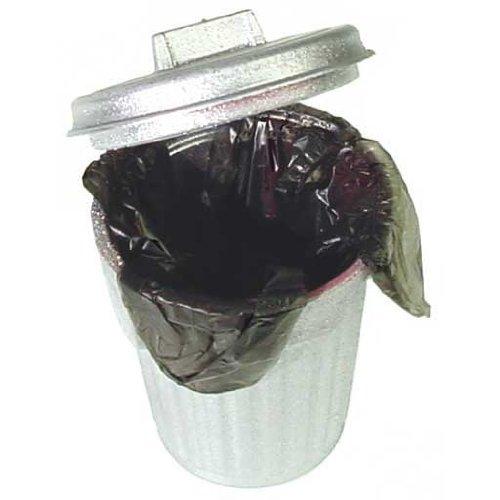 Mülleimer + Tasche für Haus, Puppe, Miniaturmöbel, Garten 003