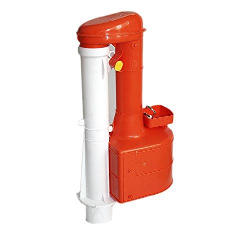 Türstopper Turbo 44 20.32 cm Siphon Duoflush Wras-Zulassung für Schmale Spülkästen