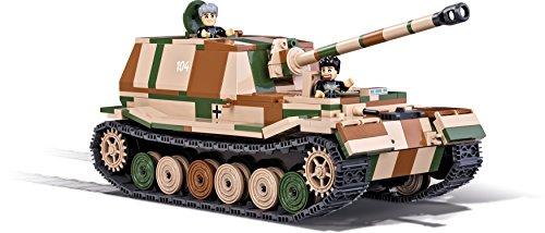 Cobi Tanque SD.KFZ. 184 Panzerjäger Tiger Elefant, Color Verde, Negro, marrón y...