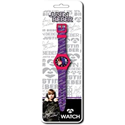 Justin Bieber Analogue Fashion Watch - Its Bieber Time - Battery Included