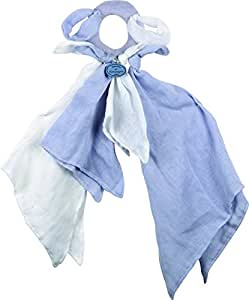 Doudou l'Ange poignée chiffon - bleu - Doudou et compagnie