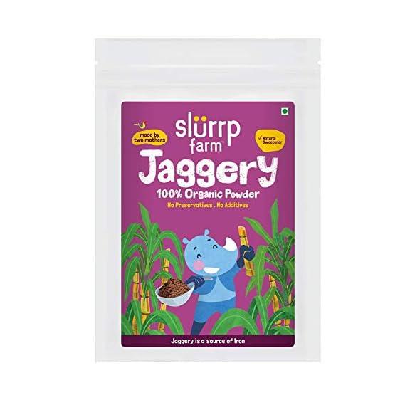 Slurrp Farm Organic Jaggery Powder,  300 g