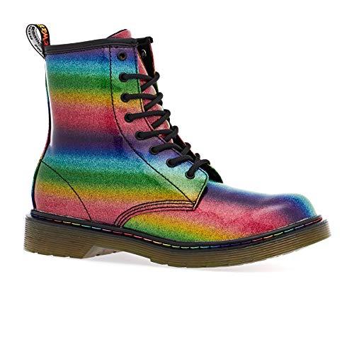 re Glitter Youth Rainbow Stiefel-UK 5 / EU 38 ()