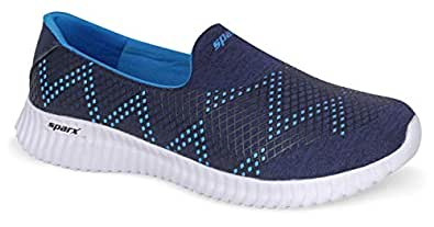 Sparx Women SL-123 Navy Blue Royal Blue Sports Shoes