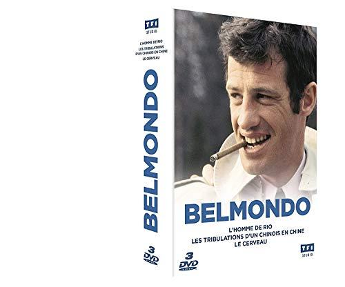Belmondo - Coffret L'Homme de Rio + Les Tribulations d'un Chinois en Chine + Le Cerveau [Italia] [DVD]