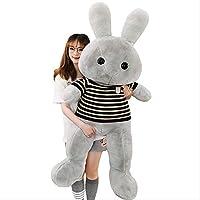 LOVEYUNHJG Plush Toys Cute Sweater Bunny Doll Doll Fabric Children