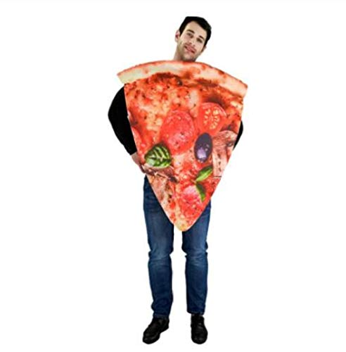 GAOGUAIG AA Erwachsene Pizza Lustige Hot Dog Mais Hamburger Kostüm Party Rolle spielen Outfits Frauen Männer Halloween Cosplay Yummy Fast Food Kostüme SD (Color : Onecolor, Size : Onesize) (Hot Dog Kostüm Männer)