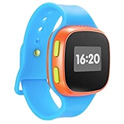 KIDSWATCH BLUE RED ACCS 2G GPS Tracker IPS 65 IN