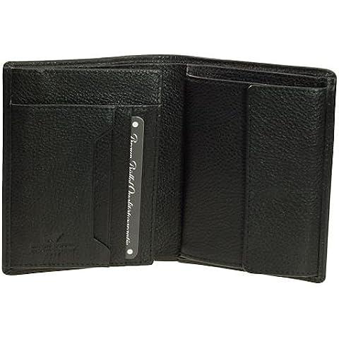 Braun Büffel Savona Porta carte di credito pelle 11 cm nero