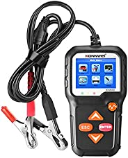 KONNWEI Car Battery Tester 12V Car Auto Battery Load Tester on Cranking System and Charging System Scan Tool B
