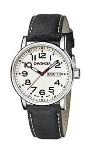 Wenger Unisex Reloj de pulsera analógico cuarzo acero inoxidable 01.0341.101 de WENGER