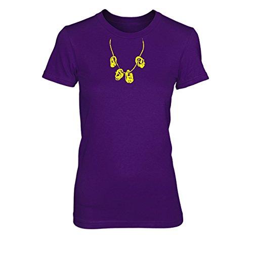Daryls Zombieohren Kette - Damen T-Shirt Lila