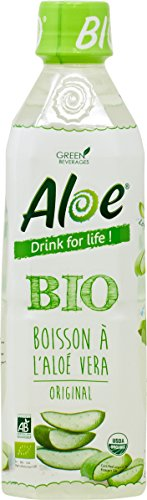Aloe Drink For Life! Pack x 12 Aloe Nature Bio Pet 500 ml