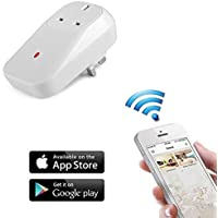 XINGDONGCHI Wifi Smart Socket Outlet UK Plug, Turn on / Off Electronics From Anywhere, Remote Control, Timing Function Control Electrical Plug Switch for Household Appliances, Free IOS / Android App (Wifi Socket)