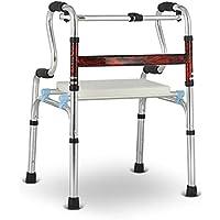 Yxsd andador con discapacidades para Ancianos Andador Auxiliar de Cuatro Patas Andador Auxiliar Rehabilitación Andador