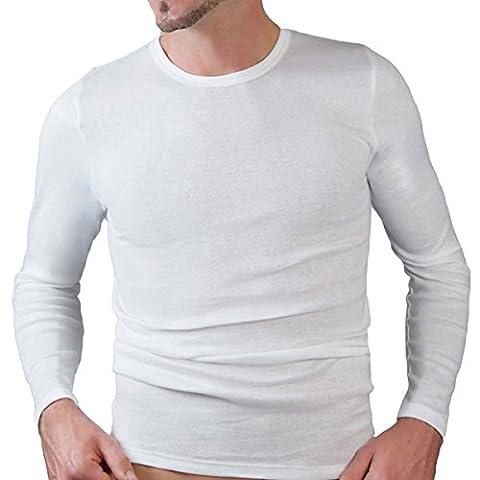 HERMKO 3640 Herren langarm Shirt aus 100% EU Baumwolle, long-sleeved