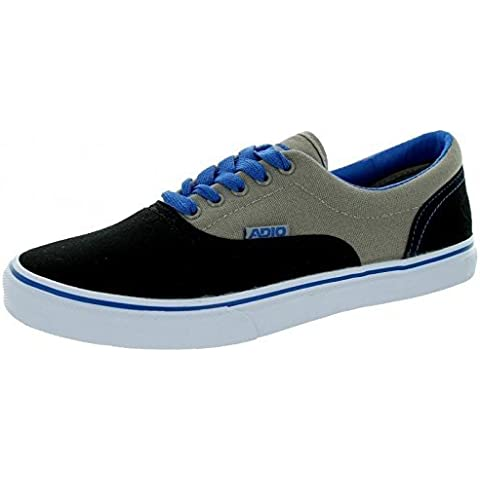 Adio skateboard shoes Canvas Cruiser Black / Grey / Royal - Sneakers Sneaker Vegan