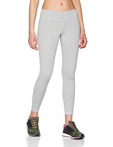 adidas Damen Believe This Regular-Rise Heathered 7/8 Tights, Chalk Pearl/Grey Four, S Preisvergleich