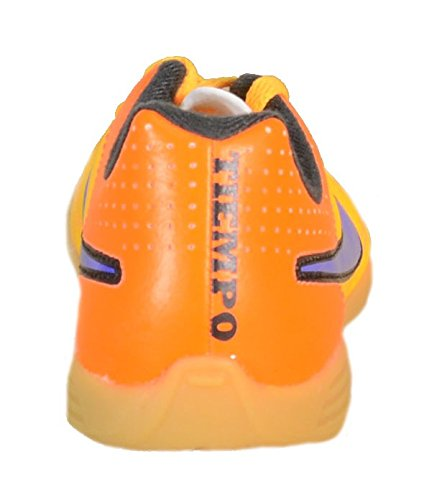 Nike Tiempo Rio Ii Ic, Chaussures de football mixte enfant Orange - Orange (Lsr Orng/Prsn Vlt-Ttl Orng-Vlt 858)