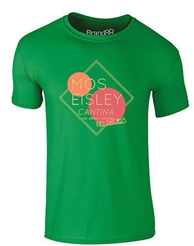 Brand88 - Desert World Cantina, Erwachsene Gedrucktes T-Shirt Grün/Transfer