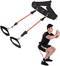 FITSY® 3-in-1 Thigh, Booty, Vertical Jump Leg Resistance Band - 30 LB Resistance