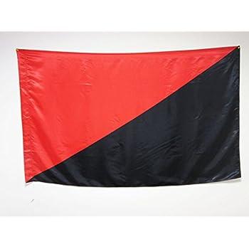 Grand Drapeau de Couleur Rouge 150 x 250 cm AZ FLAG Drapeau Unicolore Rouge 250x150cm