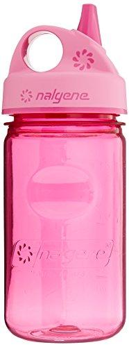 Nalgene Grip'n Gulp - Bidón de acampada y senderismo, color rosa