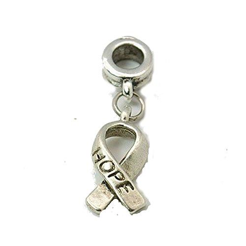 Buckets der Perlen Hope Band baumeln Charm Bead passend für die meisten Charm-Armbänder für Frauen und Mädchen (Davinci-perlen-armband)